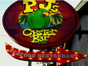 P.J.'s Oyster Bar,415 2nd St, Indian Rocks Beach, FL 33785