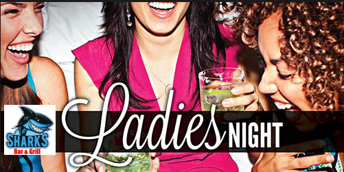 Ladies Night Sharks Bar & Grill 1479 S Belcher Rd, Largo, FL 33771