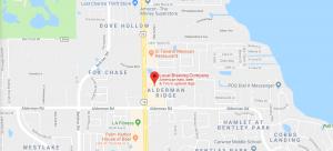 LBC Palm Harbor FL Map