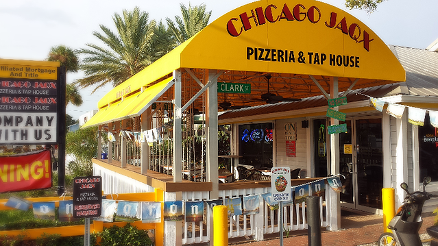 Chicago Jaqx Pizzeria & Taphouse, 1511 Gulf Blvd,chicago Jaqx, Indian Rocks beach