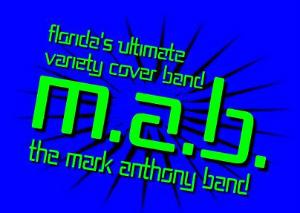 Mark Anthony Band Calendar